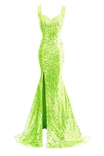 JudyBridal Women Straps Mermaid Sequins Prom Dresses with Split Side Lime Green JudyBridal http://www.amazon.com/dp/B017Q0L7XA/ref=cm_sw_r_pi_dp_Oyk3wb1FJRM1N