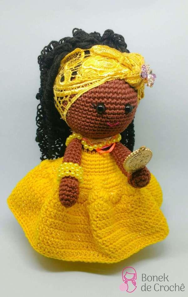 Boneca Ariele em Amigurumi - YouTube | 949x600