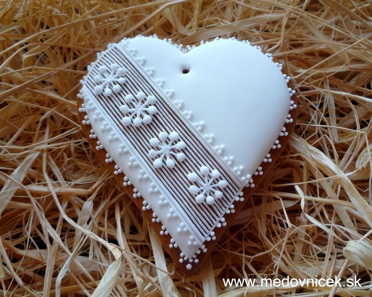 Vianocne Medovniky | Srdiečko 21; 7,5 cm