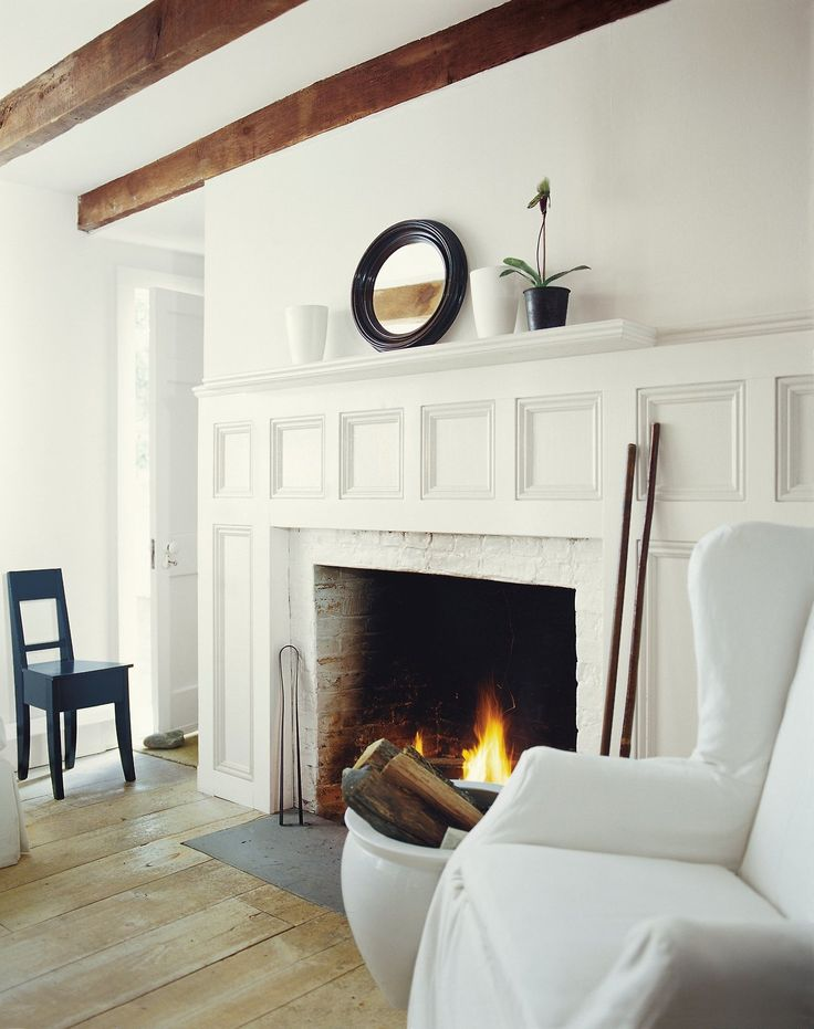 228 best images about ralph lauren home style on pinterest - White fireplace living room ideas ...