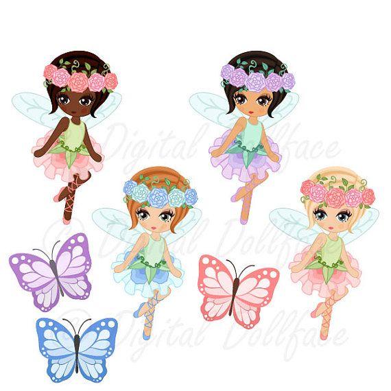 Fairy birthday. Clipart garden fairies clip