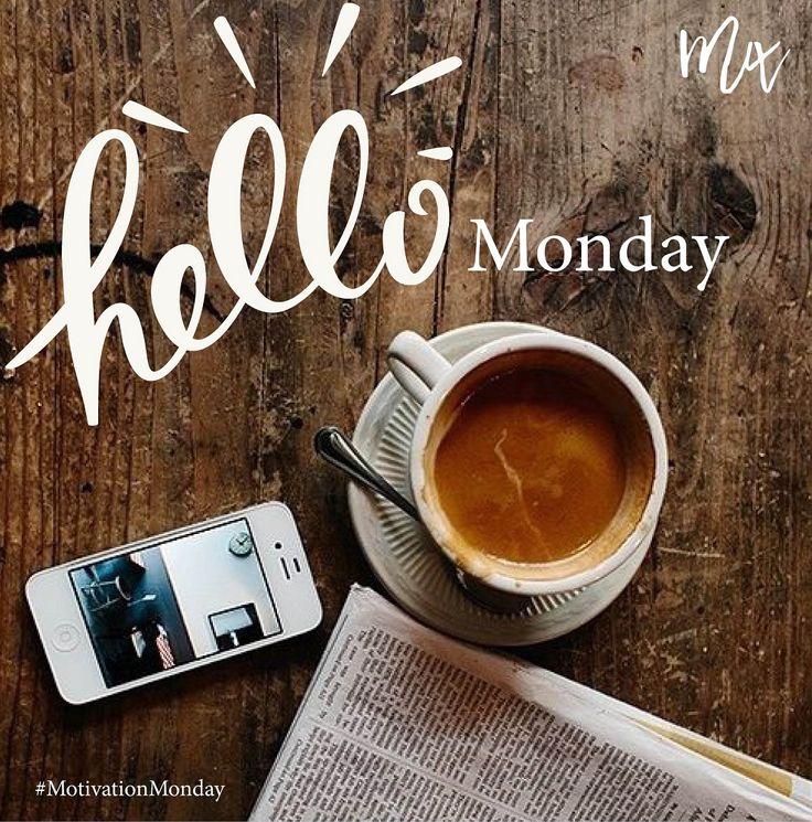 Hello Monday. #Monday #motivationmonday #coffee #quotes