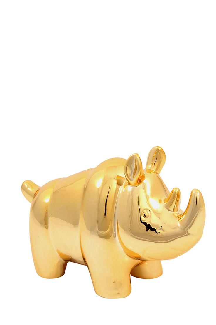 rhino piggy bank