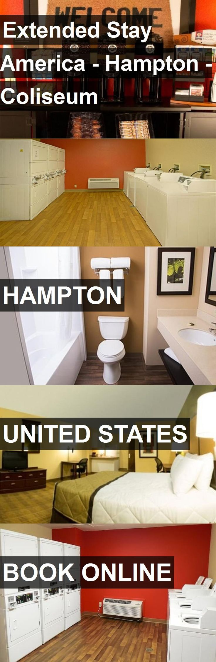 Hotel Extended Stay America - Hampton - Coliseum in Hampton, United States. For more information, photos, reviews and best prices please follow the link. #UnitedStates #Hampton #ExtendedStayAmerica-Hampton-Coliseum #hotel #travel #vacation