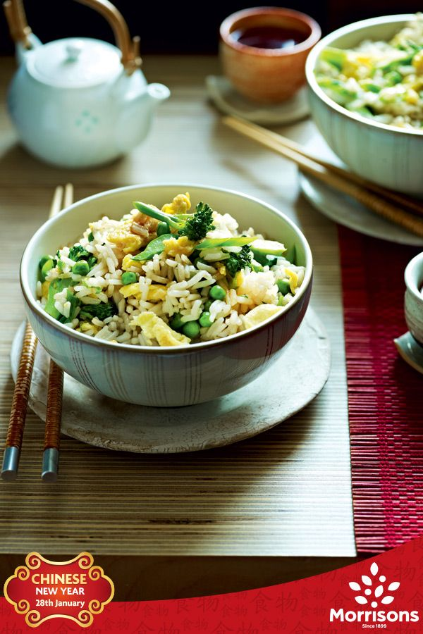 Everyone's favourite Chinese-style side dish makes a light meal in itself with the addition of Tenderstem broccoli and peas.