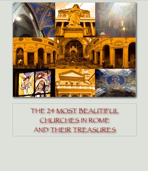 Ebook The 24 Most Beautiful Churches of Rome  and their