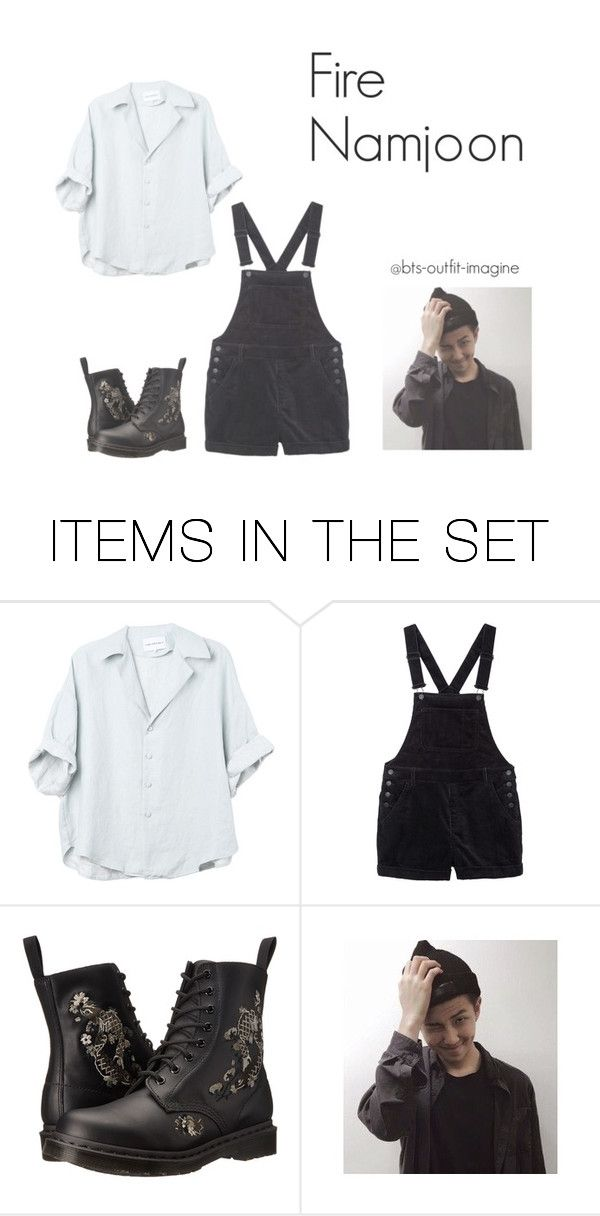 """doing a cover dance // namjoon fire"" by bts-outfit-imagine ❤ liked on Polyvore featuring art, simple, kpop, korean, bts and rapmonster"