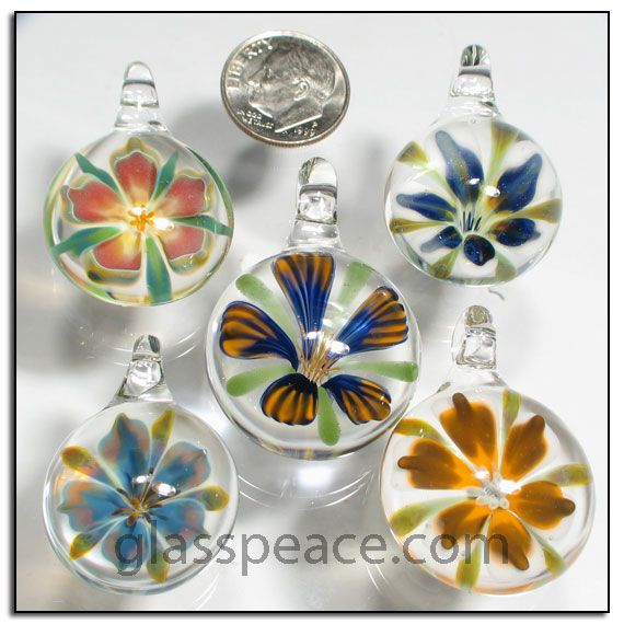 46 best glass flower pendants images on pinterest flower pendant glass flower pendants wholesale pack by glass peace glasspeace aloadofball Image collections