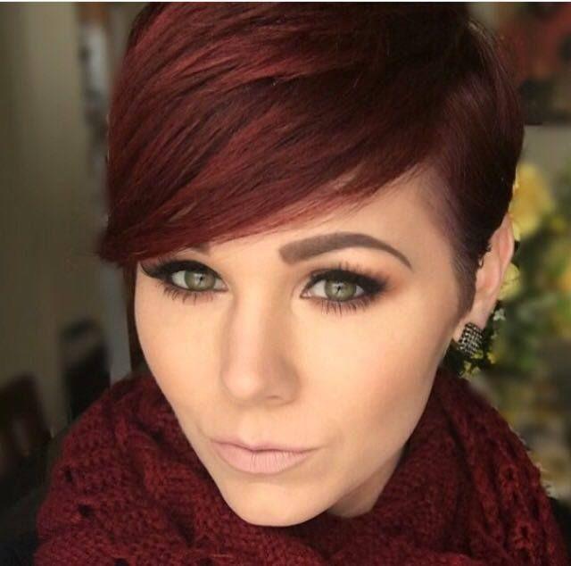 Je rode haar kort laten knippen? Doe inspiratie op met deze 12 korte kapsels voor rood haar! - Kapsels voor haar
