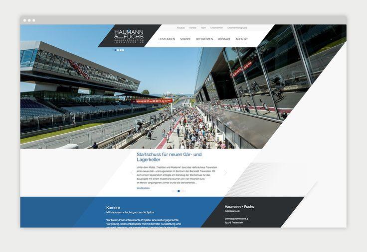 KUSE.DE - Website Relaunch Haumann & Fuchs ➔ http://www.kuse.de/referenzen/haumann-fuchs-ingenieure