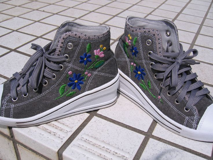 Embroidery on my shoes