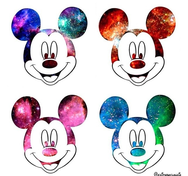 Mickey mouse / Galaxy | Outerspace | Pinterest | Mickey ...