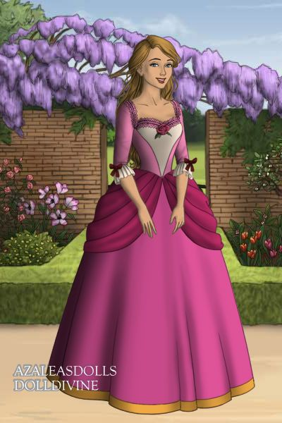genevieve from barbie in the 12 dancing princesses