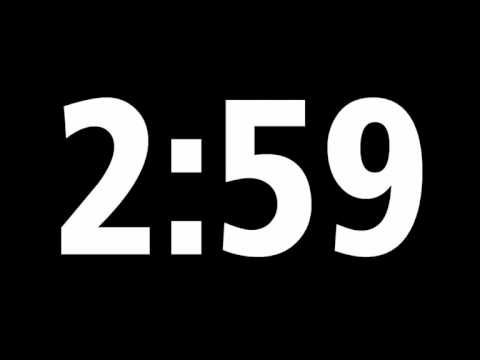 ▶ 5 Minute Digital Countdown Timer + Download Source File - YouTube