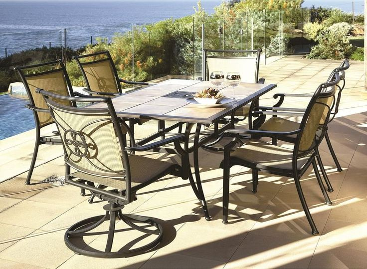 Melia 7 Piece Outdoor Setting By Debonaire Furniture From Harvey Norman New  Zealand Part 27