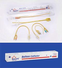 Foley Balloon Catheter - Silicone Elastomer Coated