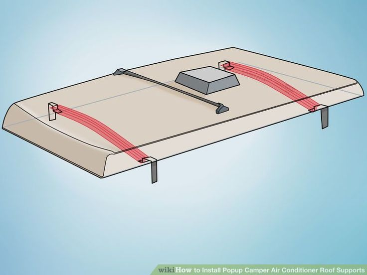 How to Install Popup Camper Air Conditioner Roof Supports