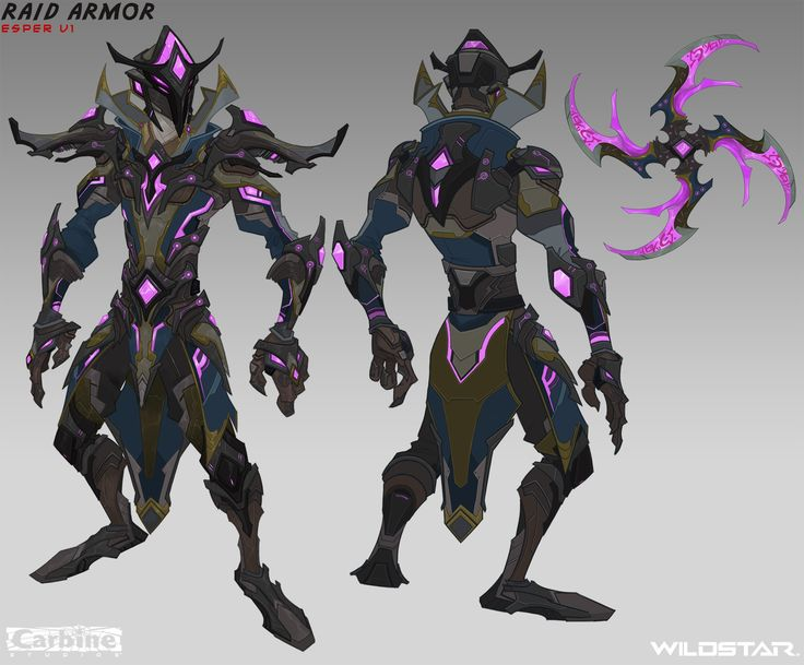 ArtStation - Raid Armor Concepts, Johnson Truong