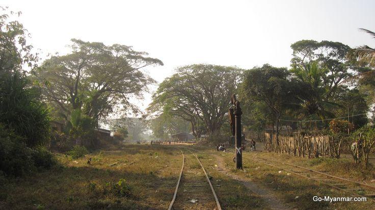 Hsipaw railway station, Shan State, Myanmar (Burma). Go here for more information on Hispaw: www.go-myanmar.com/hsipaw-thibaw