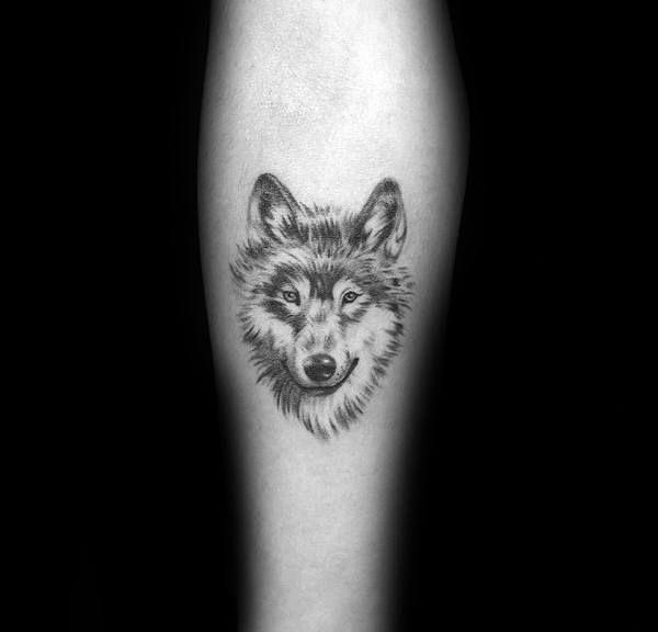 80 Siberian Husky Tattoo Designs For Men Dog Ink Ideas Small
