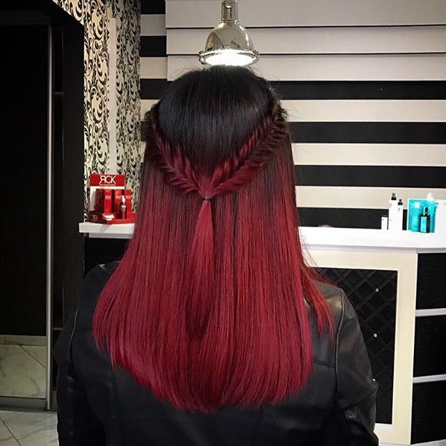 red hair ❤ |pinterest: @RSEkeeshamarie [Flo Angel]