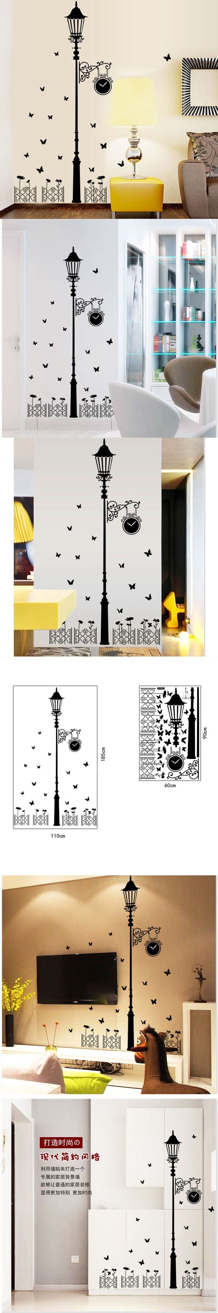 Best 25 minimalist wall stickers ideas on pinterest wall modern minimalist black lights wall stickers home decor removable pvc wall sticker decals wallpaper 110185cm amipublicfo Image collections