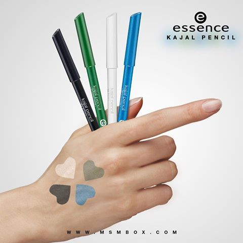 Beautiful eyes with Essence Kajal Pencil! Which colour did you get in your MSM Express Box this month? ‪#‎eyes‬ ‪#‎makeup‬