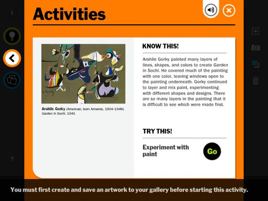 Explore and Make Art With the MoMA Art Lab iPad App