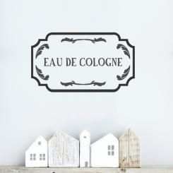 A shabby chic style decoration for your walls! French style Wallsticker