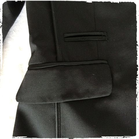 ALL SAINTS SPITALFIELDS BLACK VERY TAILORED JACKET – The Stuff we Love