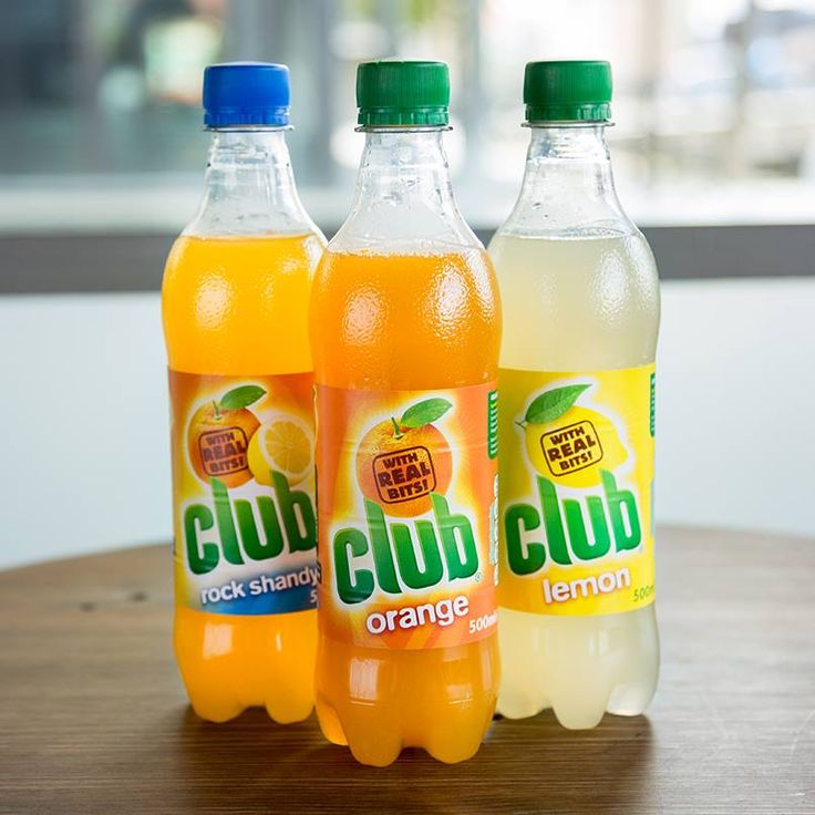 Club's distinctive juicy 'bits' and refreshing taste have made Club Orange one of the best-loved soft drinks in Ireland for generations. Now available in USA!