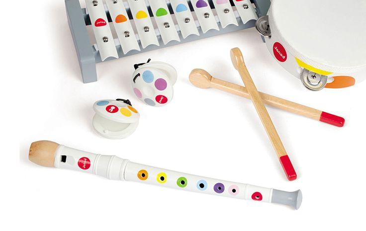 Muziekinstrumenten en de ontwikkeling van kinderen - Oh yeah baby!