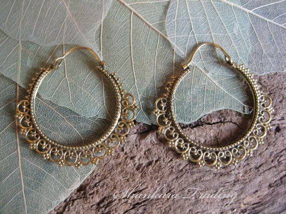 15 best Hoop Earrings images on Pinterest