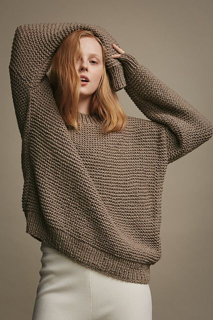 0c3b02e775373 Wool Addicts Grounded Gear Pullover Knitting Pattern - You Can Knit This!