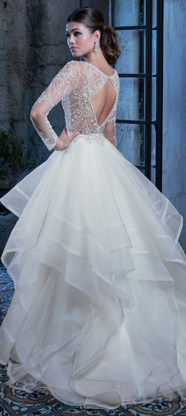 Mejores 770 imágenes de Todo para novias en Pinterest | Vestido de ...