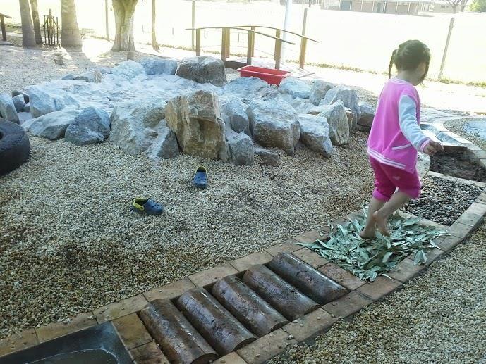 "Fabulous sensory path at Stuarts Point Preschool ("",)"