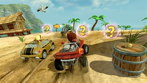 Screenshot: Classic arcade kart racing with an offroad flair!