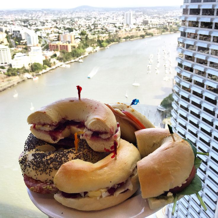 Bagels from Cawfee in Brisbane #bagels #brisbane @cawfeeshop