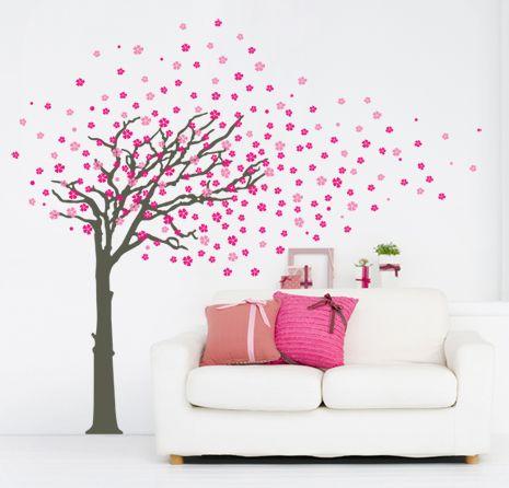 48 best adesivi murali sticker made in italy evergreen - Adesivo albero ikea ...