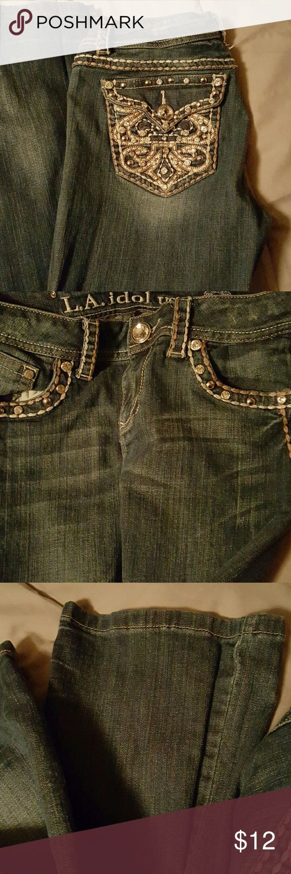 La idol jeans Worn a few times. 31 waist. 34 length.  Great condition. la idols  Jeans