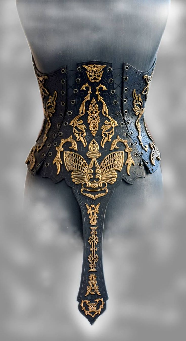"""steampunktendencies: """"  Corset """"Imperial"""" by Andrew Kanounov """""""