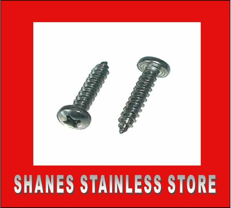 Stainless Steel CSK Head Screws: *Quality screws used for self tapping into timber. *Screws used to attach saddles to timber posts. * 6g x 25mm Stainless Screws $10 per 100. #Stainlesssteel #Screws
