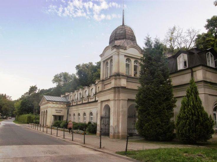Park Zdrojowy - Nałęczów (woj. lubelskie, pow. puławski, gm. Nałęczów)