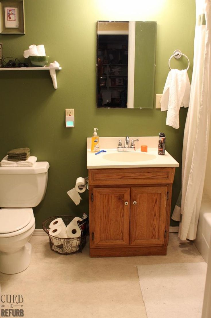 Best Small Bathroom Makeovers Ideas On Pinterest Small