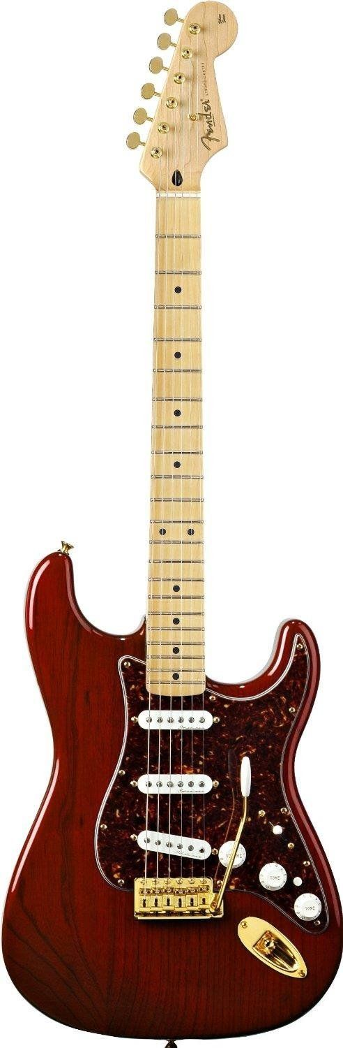 Are you looking for a new guitar? You can find a selection of FENDER GUITARS including this FENDER DELUXE PLAYERS STRAT. - MAPLE FRETBOARD IN CUSTOM RED TRANSPARENT (free shipping) at http://jsmartmusic.com
