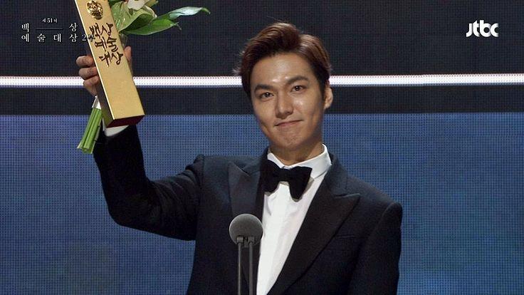 아이치이 스타상 이민호 Lee Min Ho -  Paeksang Arts Awards