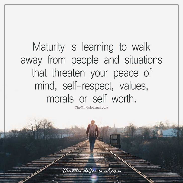 When To Walk Away Quotes: Maturity Is Learning To Walk Away From People