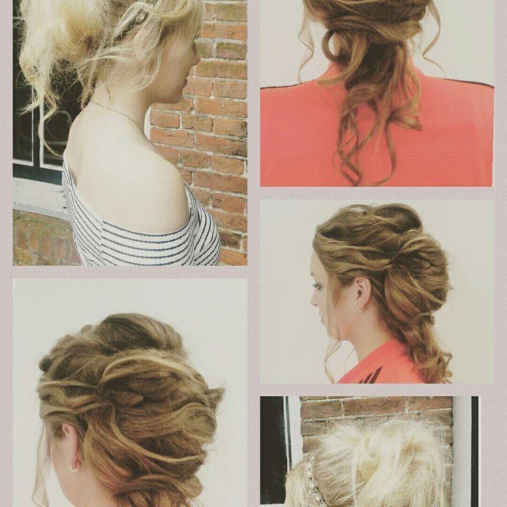 Up do #hair #wedding #mywork