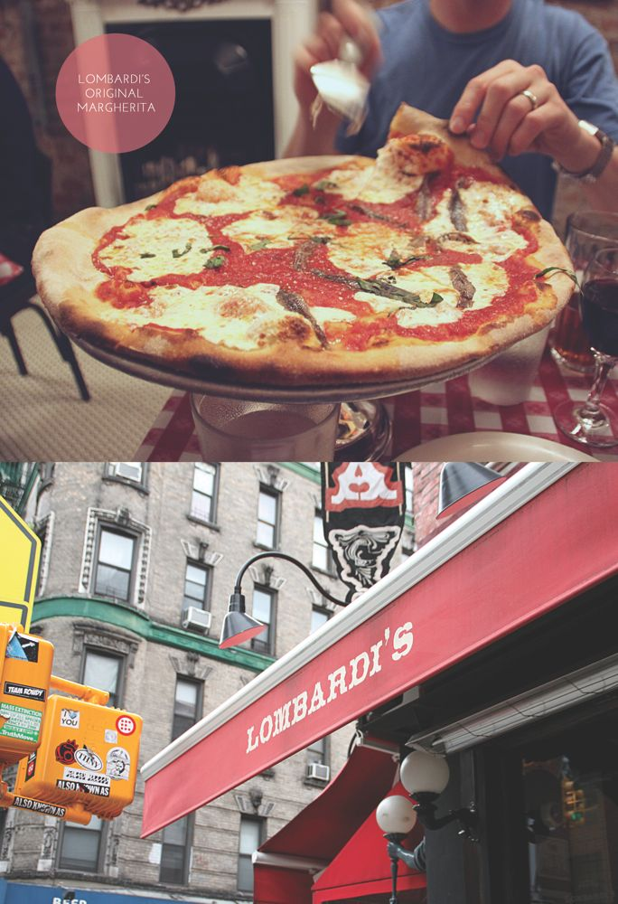 Lombardi's Pizza in SoHo NYC (on Spring St) Oh how I miss their pizza :( #damnyouceliacs