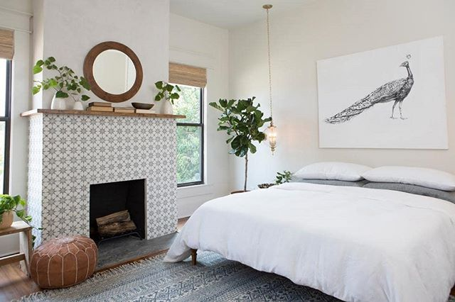 Fixer Upper Created Such A Peaceful Space In This Bedroom Love